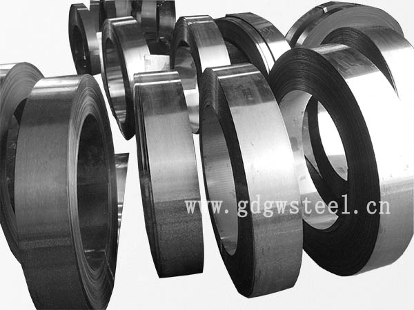 cold rolled hardened and tempered steel strip