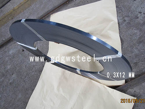 0.3x12mm C75S blue carbon steel strip
